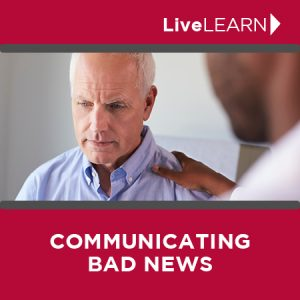 online coaching for communicating bad news