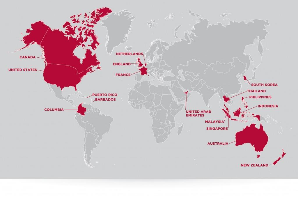 VoicePRO Client Map